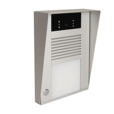 IP Videotürsprechanlage mit Wetterschutzdach